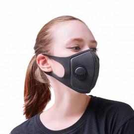 Masque de Protection Respiratoire Réutilisable - Filtration au Charbon - Lavable