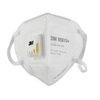 Masque de Protection Respiratoire avec Valve - 3M - FFP2 - N95 - PM2,5 - Prix de Lot - Anti-Virus - Anti-Poussière - Anti-Pollution