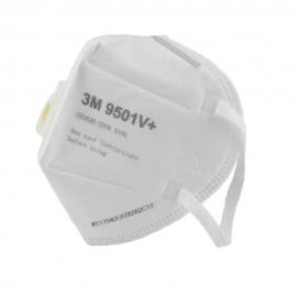 Masque de Protection Respiratoire avec Valve -  PM2,5  - 3M - KN95 équiv. FFP2 - Prix de Lot - Anti-Poussière - Anti-Pollution - Efficace contre Ebola et Coronavirus