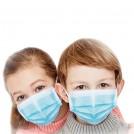 Masque pour Enfant - Masque de Protection Respiratoire Jetable de Qualité Chirurgical - Choix de Couleur - 25 ou 50 Pièces