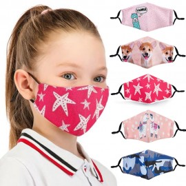 Masques de Protection Respiratoire Réutilisable pour Enfant - Lavable