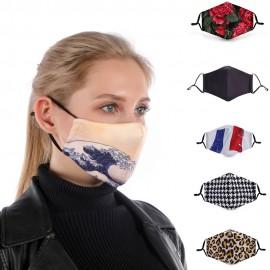 Masques de Protection Respiratoire Réutilisable - Lavable