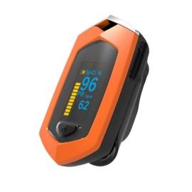 Oxymètre de Pouls, Écran Lumineux OLED, Affichage Multidirectionnel, Arrêt Automatique