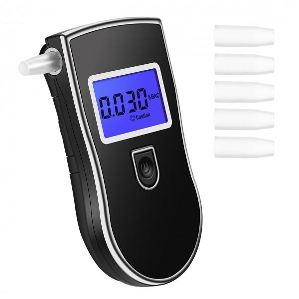 Alcootest Portable - Éthylotest Électronique Digital - Éthylomètre de Précision Professionnelle