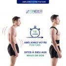 Correcteur de Posture - Redresse Dos pour Homme et Femme
