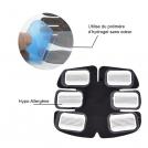 Électrostimulateur Pro V5 Abdominaux, Fessiers et Bras avec Packs de Gel Supplémentaires
