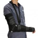 Attelle de bras - Écharpe de Bras Noir pour Immobilisation du Coude