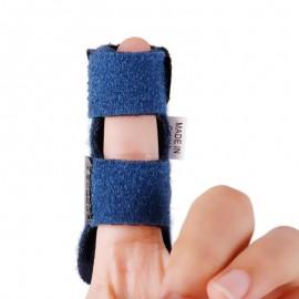 Attelle de Doigt Réglable - Idéal pour les Foulures Fractures ou Entorses