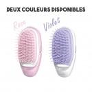Brosse à Cheveux Ionique pour Soin Réparateur - Rose ou Violet