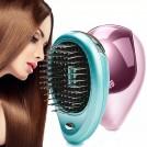 Brosse à cheveux ionique électrique à emporter massage