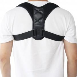Correcteur de Posture - Ceinture de Correction de Posture Réglable et de Couleur Noire