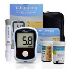 Lecteur de Glycémie - Glucomètre avec 50 Bandelettes et 50 Lancettes