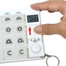 Pilulier Semainier avec 28 Compartiments et Alarme
