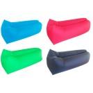Hamac canapé gonflable avec sa sacoche - Forme Carrée