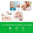 Thermomètre Médical 3 En 1 Étanche Et Numérique