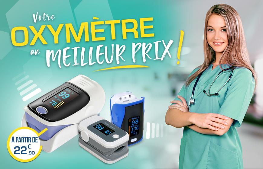 Oxymetre de pouls au meilleur prix